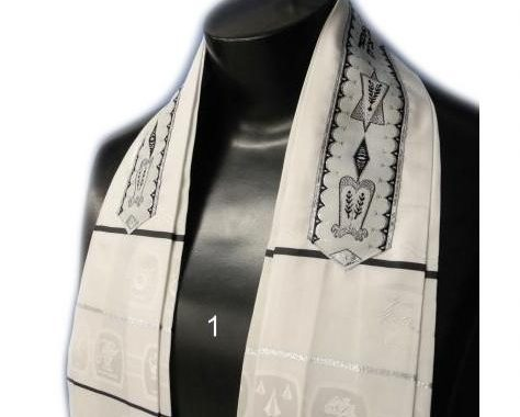 Form Fitted Clergy Tallit - 12 Tribes