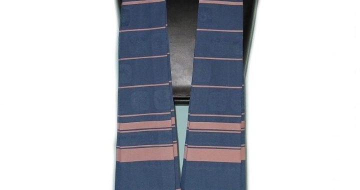 Form Fitted Clergy Tallit - Blues