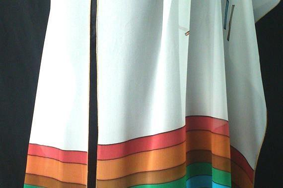 Silk Tallit For Women and Bat Mitzvah Girls