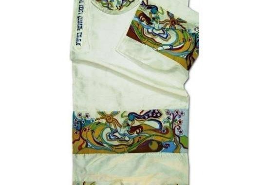 Silk Tallit Set - Miriam