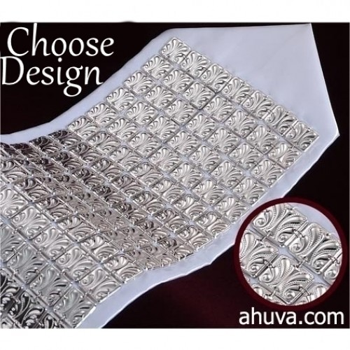 Atarah Tallit Silver Neckband