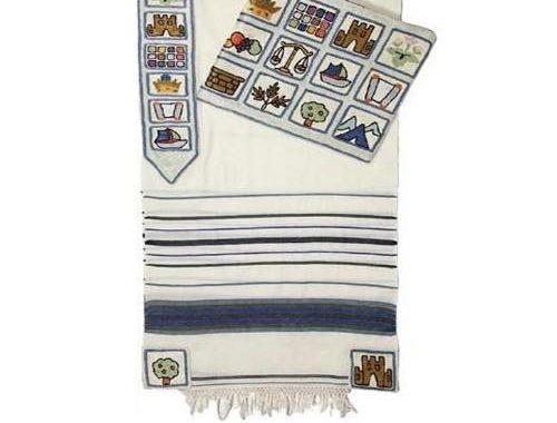 Tallit Depicts Jewish Culture