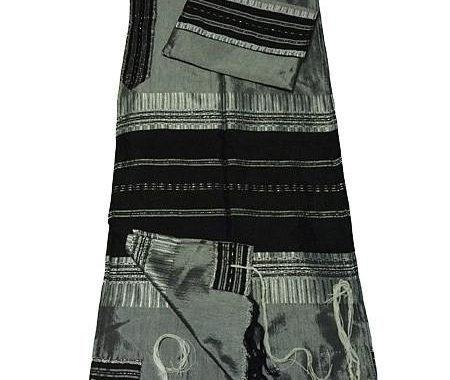 Tallit Set - Gray & Black