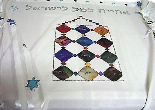 The Hoshen Breastplate Stones Prayer Shawl
